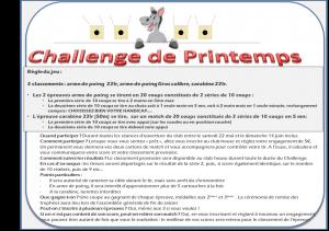 L'affiche du Challenge